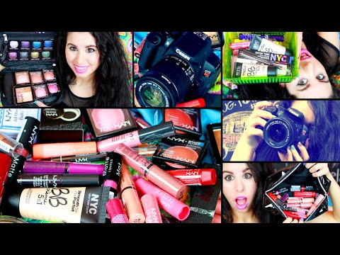 HUGE Makeup Collection Haul! + NEW CAMERA!