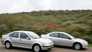 Occasion dubbeltest Volkswagen Bora vs Chrysler Neon