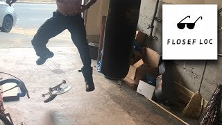 KICKFLIPPING IN COP BOOTS