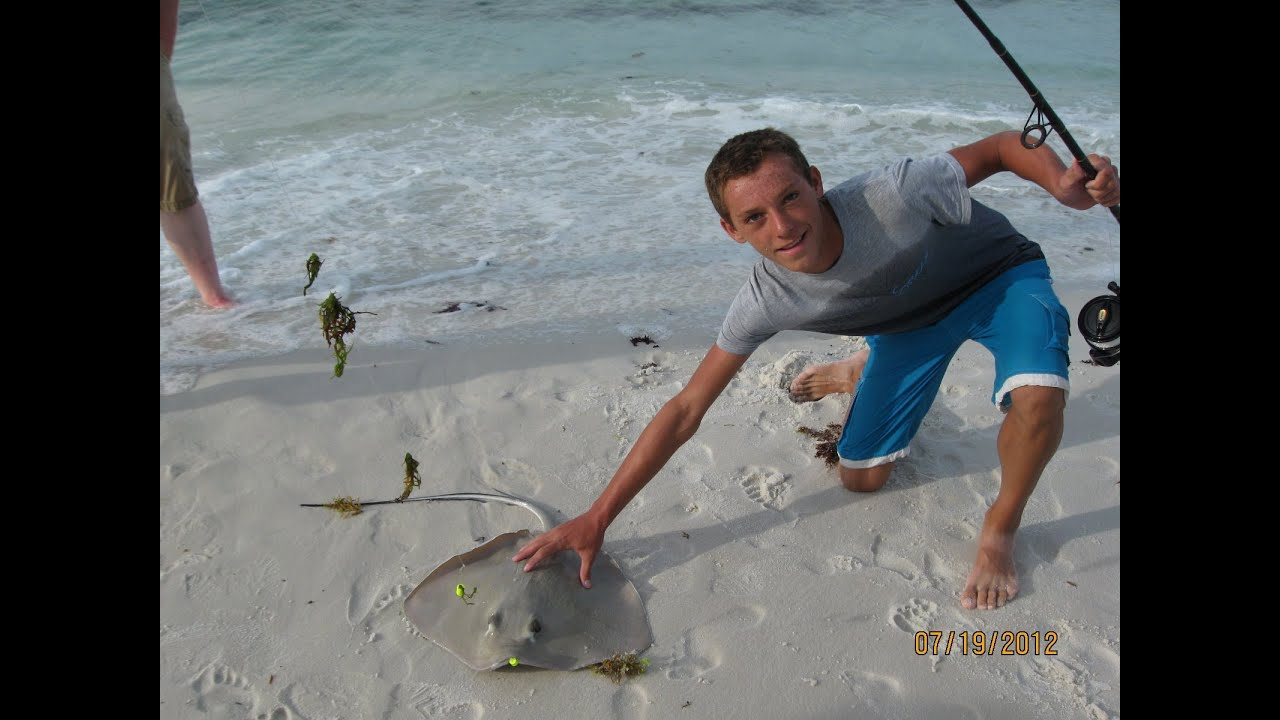 Destin florida beach fishing youtube for Destin fl fishing report