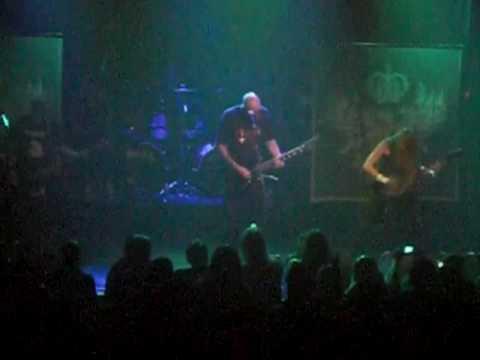 God Dethroned Poison Fog + Boiling Blood LIVE in New York City 10-16-09
