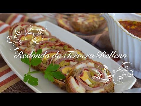 Redondo de Ternera Relleno en Salsa en olla express - Recetas de Cocina por Chef de mi Casa.com
