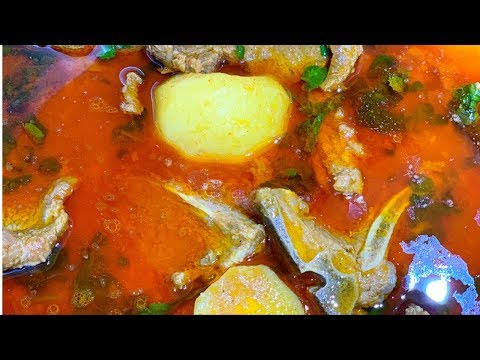 SISTER COOKING 2 | MOUTH WATERING ALOO GHOSHT RECIPE