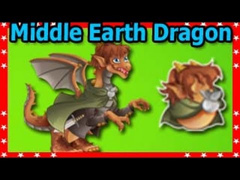 MIDDLE EARTH DRAGON Review and Level Up Fast in Dragon City