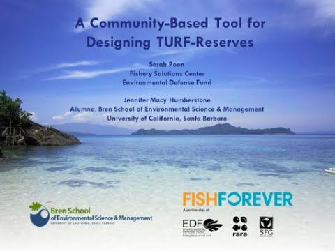 A Community-Based Tool for Designing TURF-Reserves
