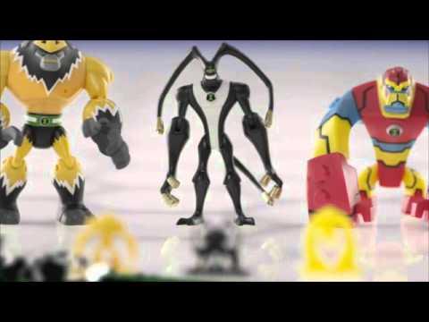 Ben 10 Omniverse Alien Collection Figures & Omnitrix
