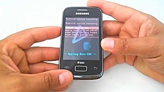 Aplicando facilmente o hard reset no Samsung Galaxy Y Duos GT-S6102B