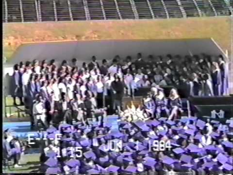 North Mecklenburg High School 1984 Graduation - Part 1