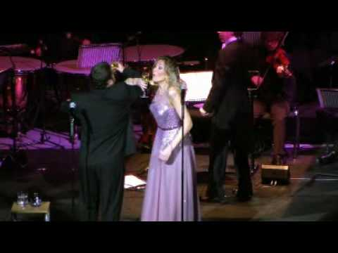 Paul Potts and Natasha Marsh One Chance Tour Video