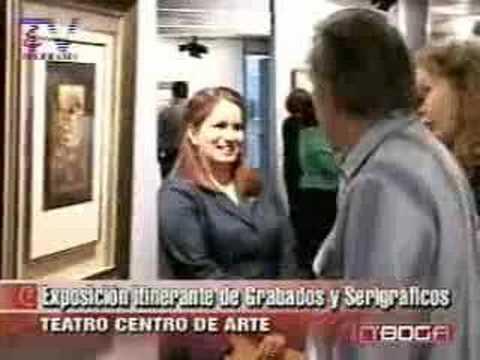 Exposición intinerante de Grabados y Serigráficos