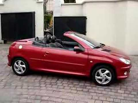 peugeot 206 cc youtube. Black Bedroom Furniture Sets. Home Design Ideas