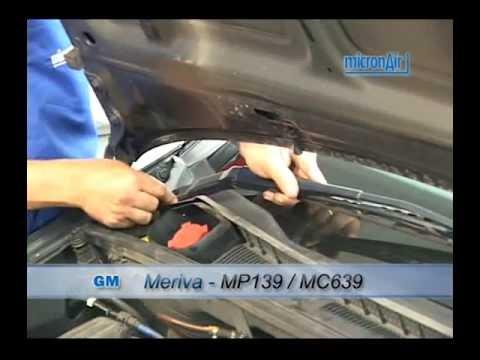 GM como trocar o filtro de ar condicionado cabine