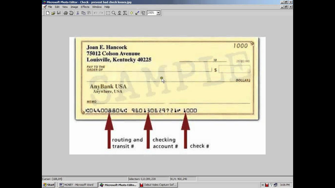 how to find out your rrsp from cheque