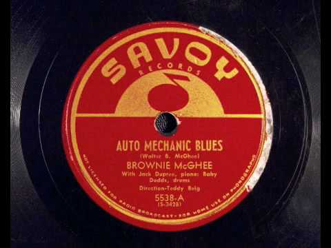 Auto Mechanics Blues - Brownie McGhee