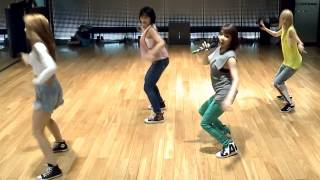 2NE1 Falling In Love mirrored Dance Practice