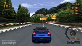 Gran Turismo 3 A-Spec PS2   Trial Mountain   Toyota MR2 '97