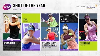 2019 WTA Shot of the Year (Pool B)