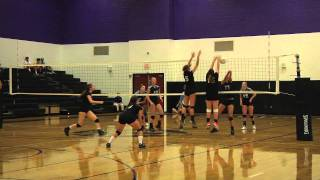 Carrboro High v South Granville High Volleyball