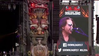 """Winger - 「Download Festival 2014」でのライブから""""Headed For A Heartbreak""""の映像を公開 thm Music info Clip"""