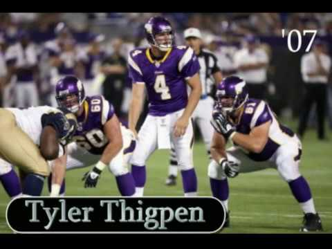 Minnesota Vikings Quarterbacks Video