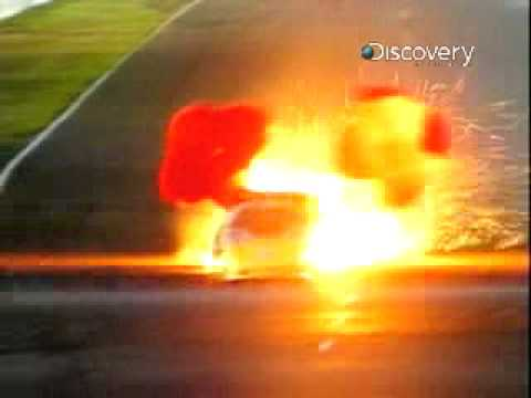 Destroyed in Seconds- Stock Car Crash