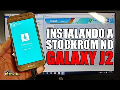 Instalando a Rom/Firmware no Samsung Galaxy J2 (SM-J200BT) #UTICell