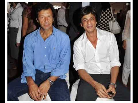 IMRAN KHAN (PTI)  With SHAHRUKH KHAN (two king khan's 1 saath:)