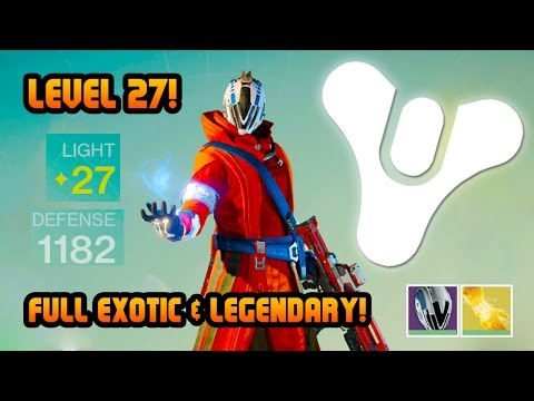 Destiny Level 27 Warlock Full Legendary & Exotic Crucible Multiplayer Gameplay! (Destiny Gameplay)