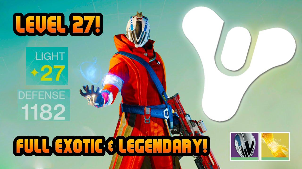 Destiny level 27 warlock full legendary amp exotic crucible multiplayer