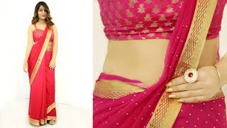 How To Wear Saree Perfectly
