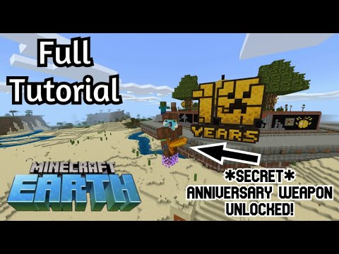 Minecraft 10 Years of Minecraft Map : Playthrough (Special 10 Year Anniversary Event Map)