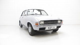 Quite Possibly the Best Unrestored Austin Allegro 1100 DeLuxe with 10,190 Miles - SOLD!