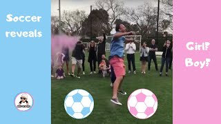 SOCCER GENDER REVEAL  { FIFA 2018 } / 2M UNIQUE BABY GENDER REVEALS