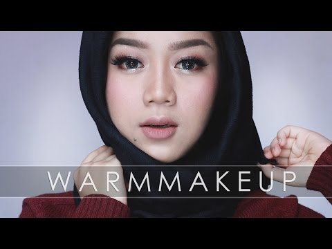 WARM MAKEUP TUTORIAL / FALL MAKEUP | Cheryl Raissa