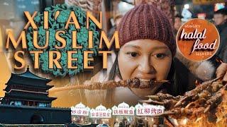 Xi'an Muslim Street - Episode 2   Halal Street Food in China