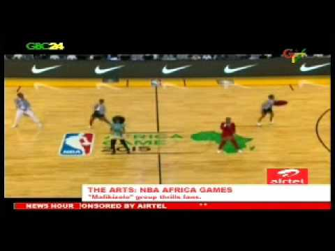 Mafikizolo Performs At NBA Africa Games