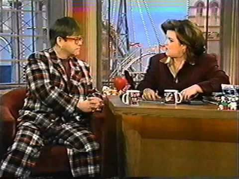 Elton John On The Rosie O'Donnell Show (1996)