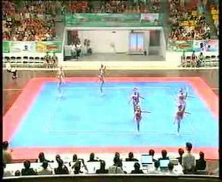 Team Age Group 1 - 1 place _ HoChiMinh Open Aerobic Gymnastics Championships 2006, Viet Nam