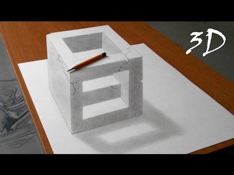 ¬идео как нарисовать кольцо карандашом поэтапно
