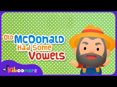 Vowel Song | AEIOU Song | Vowel Sounds For Children