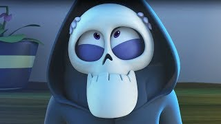 Funny Animated Cartoon   Spookiz Zizis Halloween Costume Disguise 스푸키즈 Cartoon For Children