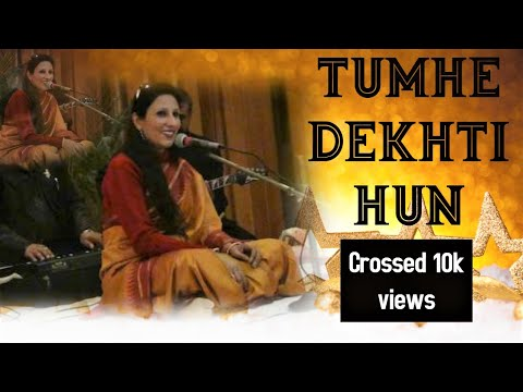 Simrat Chhabra performing Tumhen Dekhti Hoon To Lagta Hai Aise...