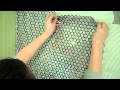 Cutting tile backsplash