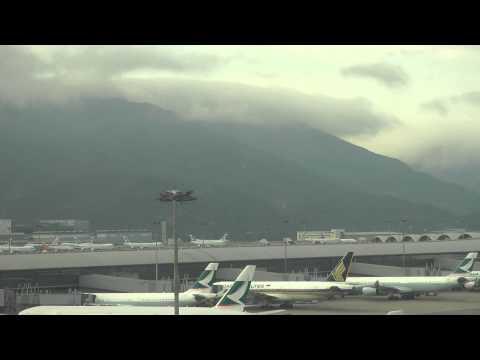 Air Traffic Control Hong Kong Airport Chek Lap Kok Regal Hotel Gate View