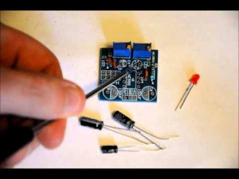 1Hz to 500kHz 555 Timer Based Square Wave Signal Generator DIY Electronics Kit