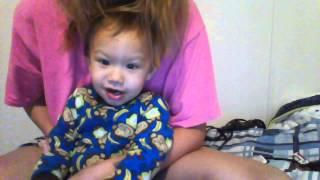 Hmong/White baby Speak Hmong