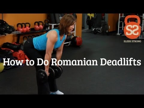 How to Do Romanian Deadlifts | Sleek/Strong With Rachel Cosgrove Image 1