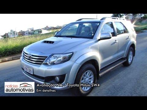 Toyota Hilux SW4 - Detalhes - NoticiasAutomotivas.com.br