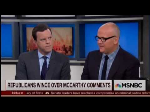 Joe Scarborough: Kevin McCarthy Made 'Rookie Mistake' With Benghazi Remarks