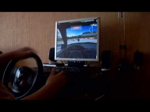 Logitech Driving Force GT Onboard Cruise In LFS - 1 Part